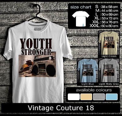 kaos distro vintage couture 18