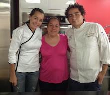 Con Chefs  Anna Ruiz y Miguel Gaytan