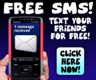 Send free SMS to anywhere