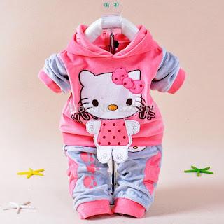 Model Jaket Hello Kitty Lucu Untuk Anak Perempuan