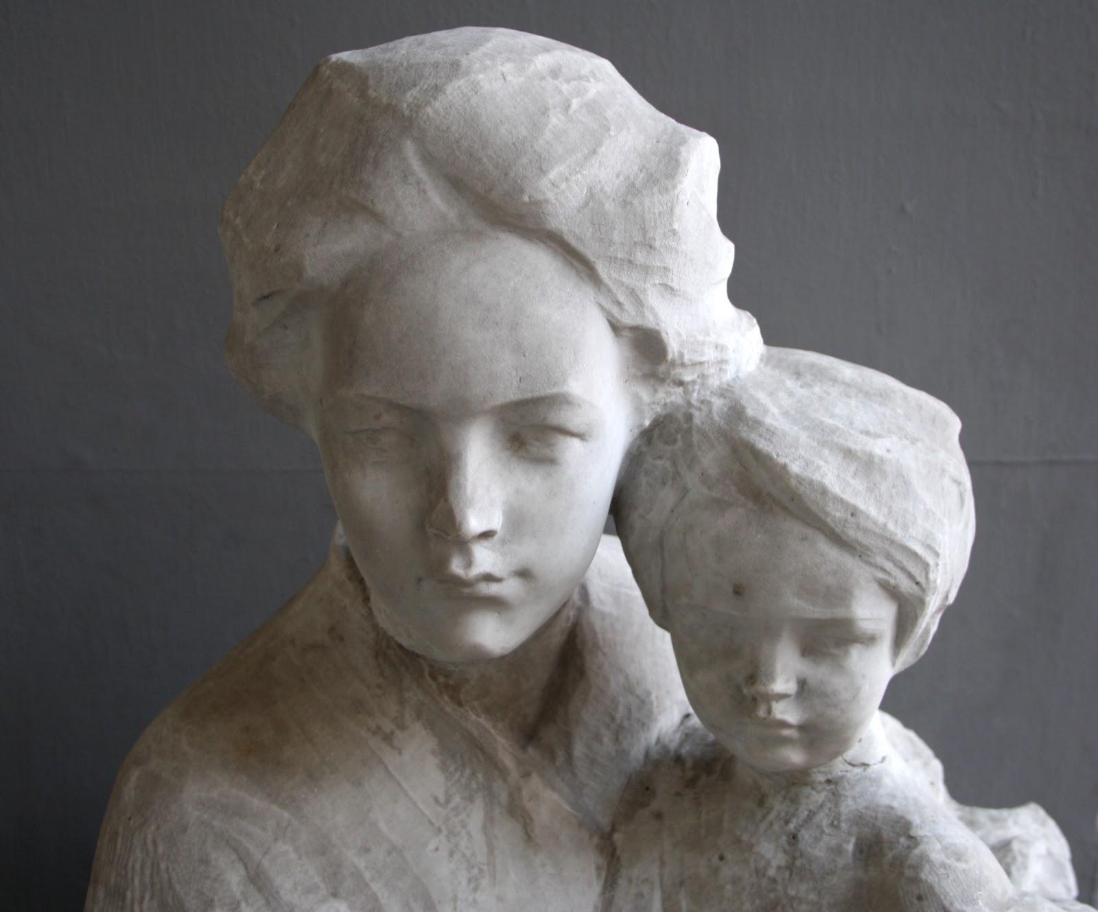 Paolo Troubetzkoy Madre  e  figlio