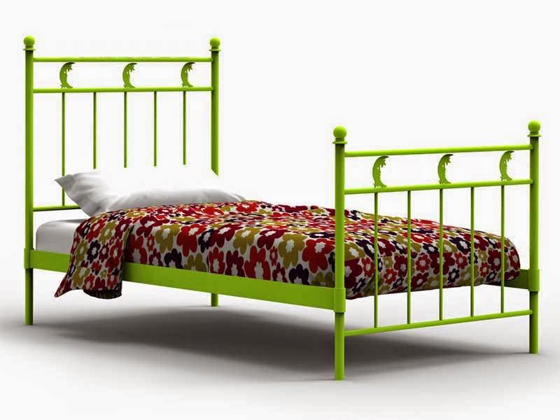 Dormitorio de forja cama
