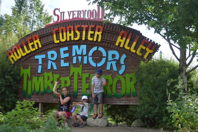 Silverwood roller coasters