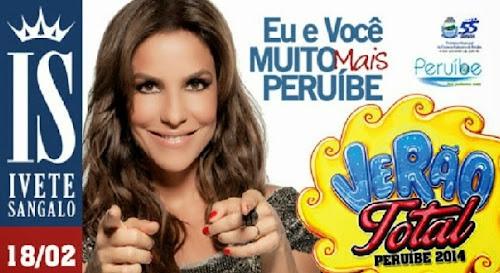 Ivete Sangalo fará show em peruíbe no aniversário da cidade