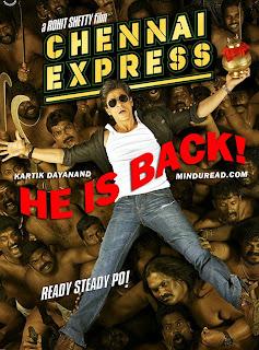 Chennai Express Shahrukh Khan - Kartik Dayanand - Minduread