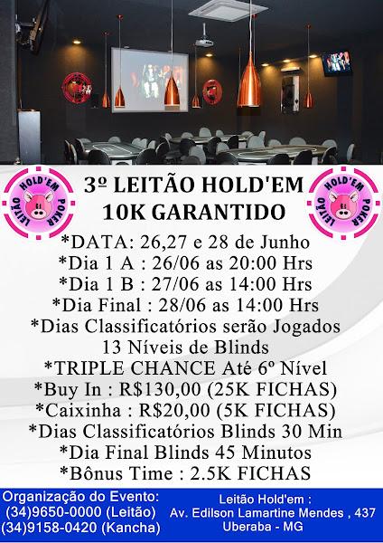 3º 10K GARANTIDO LEITÃO HOLD'EM