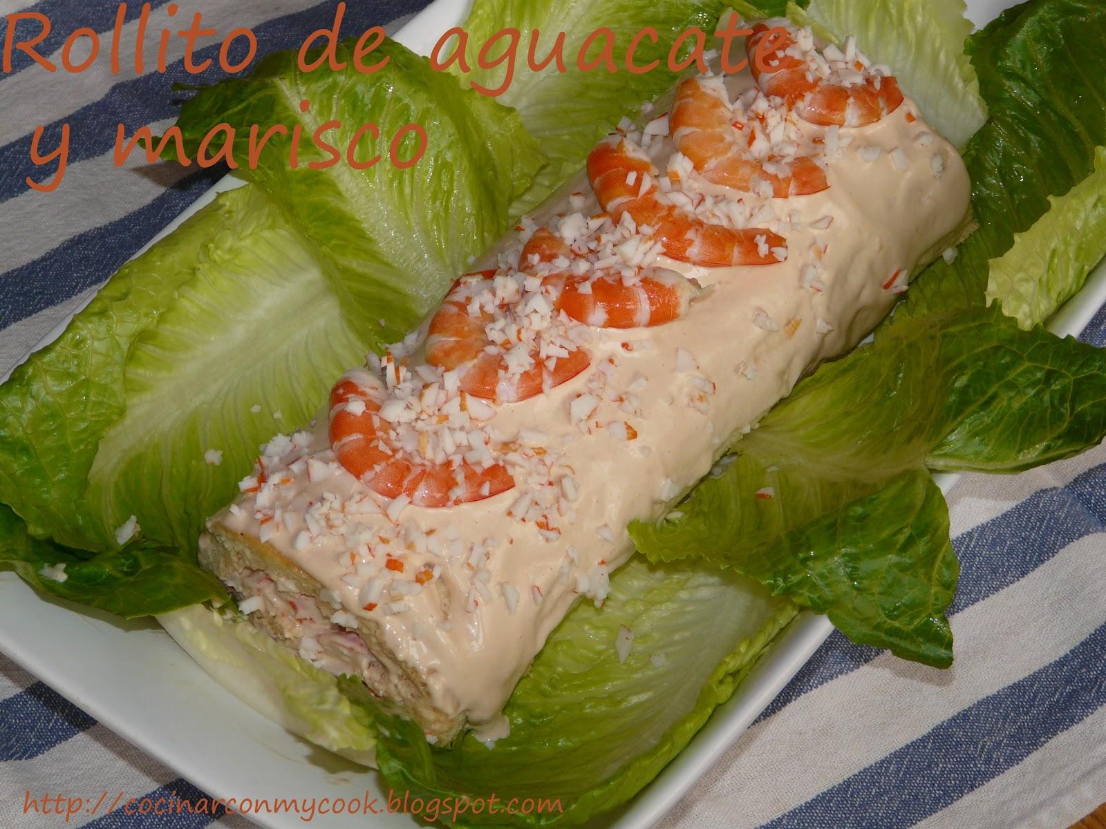 Cocinar Con Mycook Tronco De Aguacate Y Marisco ~ Coctel De Aguacate Y Langostinos