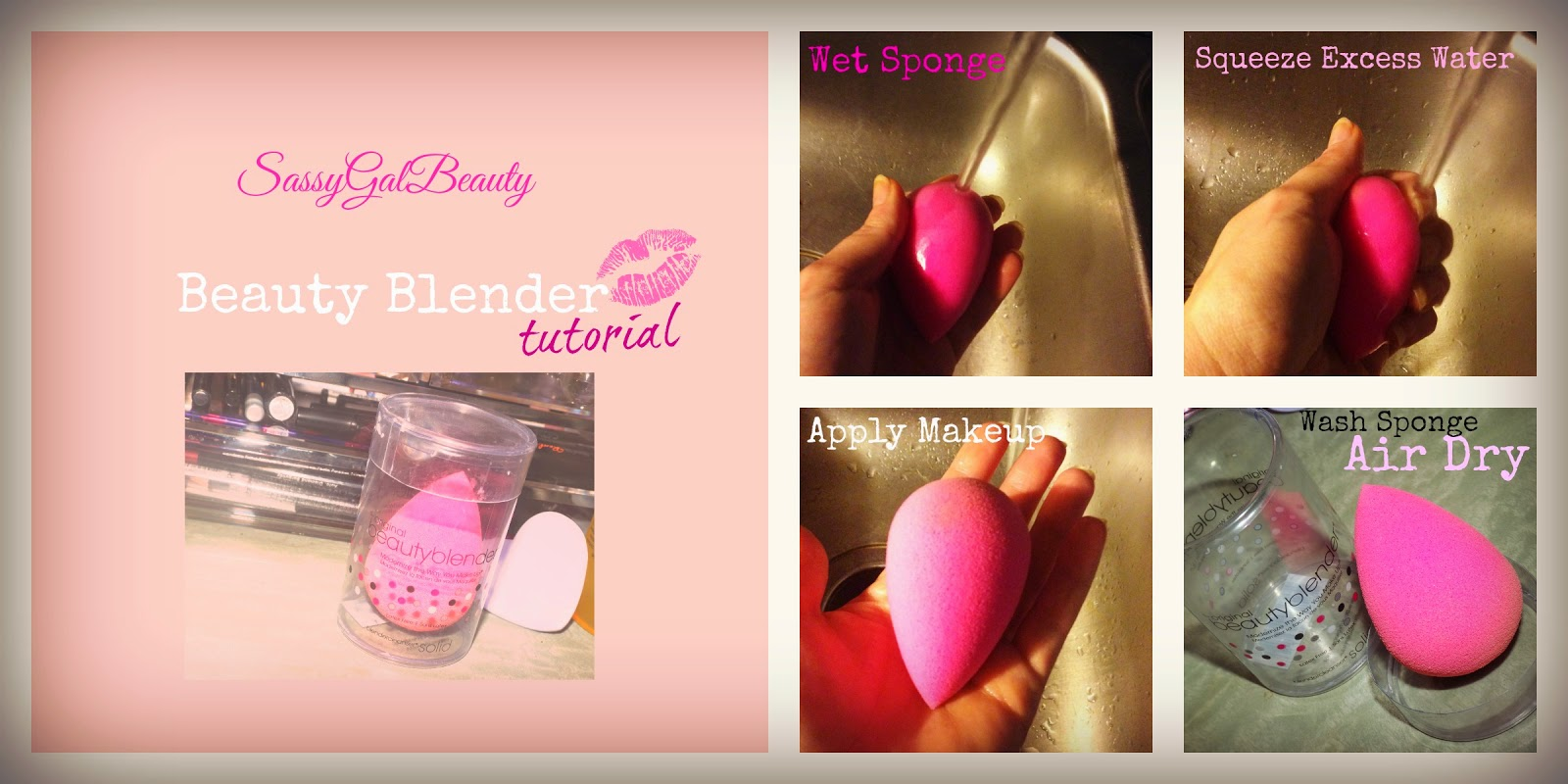 Beauty Blender Tutorial
