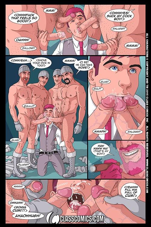 Онлайн гей комиксы