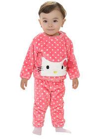 Model baju polkadot anak terbaru