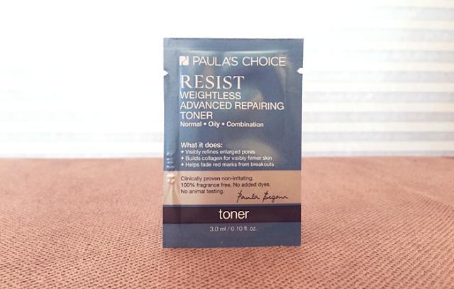 Paula's Choice Resist Toner Review - The Acne Experiment