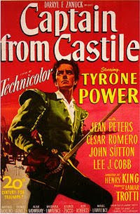 Captain from Castille (1947) Poster