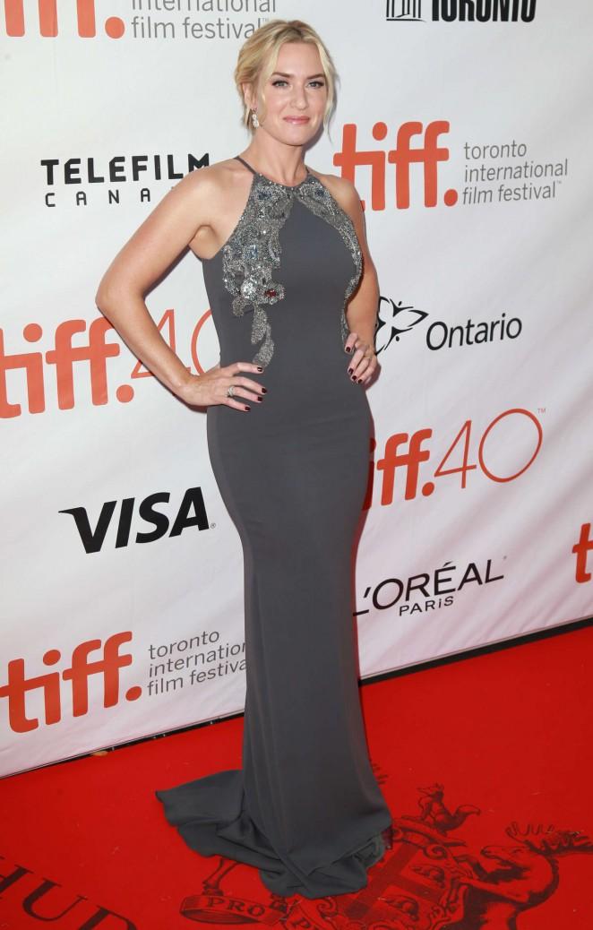 Kate Winslet flaunts curves at 'The Dressmaker' TIFF premiere