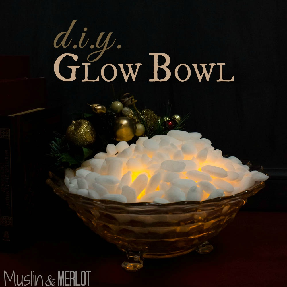 DIY Christmas Glow Bowl Craft