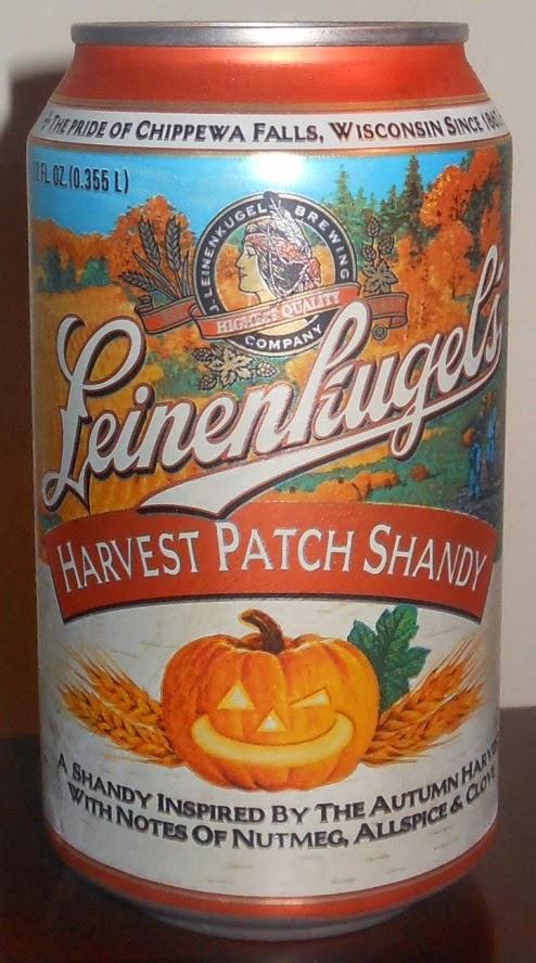 Leinenkugel's Harvest Patch Shandy   gotbeer.com