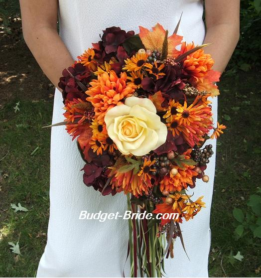Special weddings party fall wedding fall wedding colors for Wedding bouquets for autumn