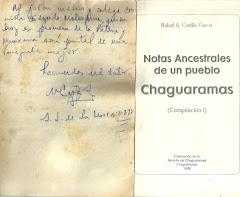 NOTAS ANCESTRALES DE CHAGUARAMAS.1996.