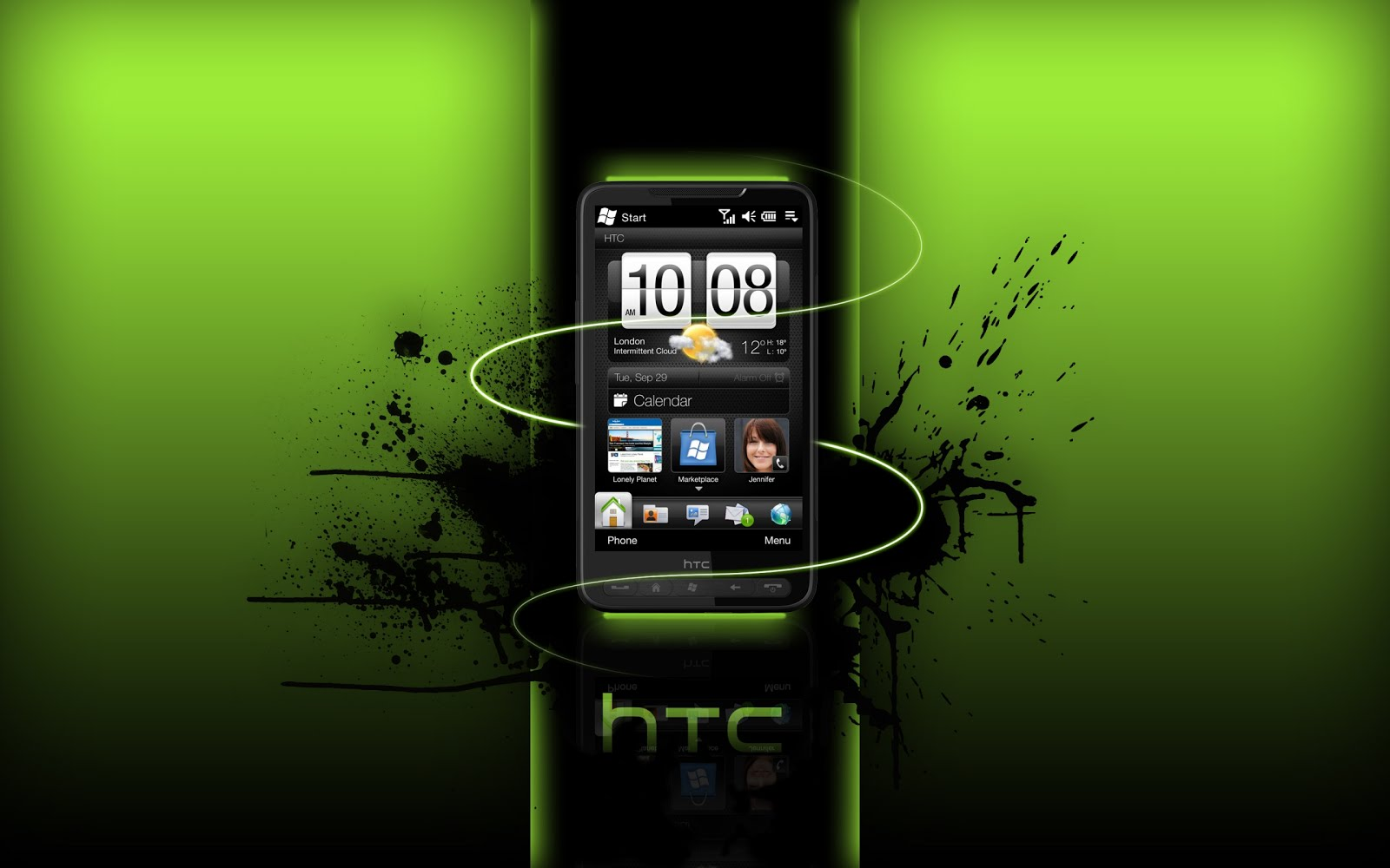 Tel Fono Inteligente Htc Con Windows Phone Smartphone