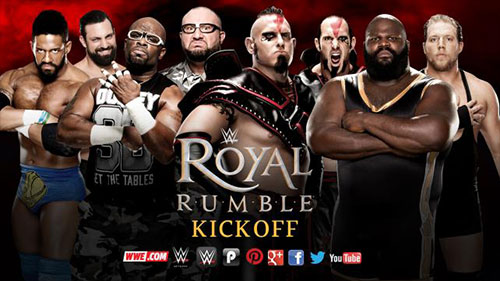 WWE Royal Rumble 2016 pre-show kickoff match