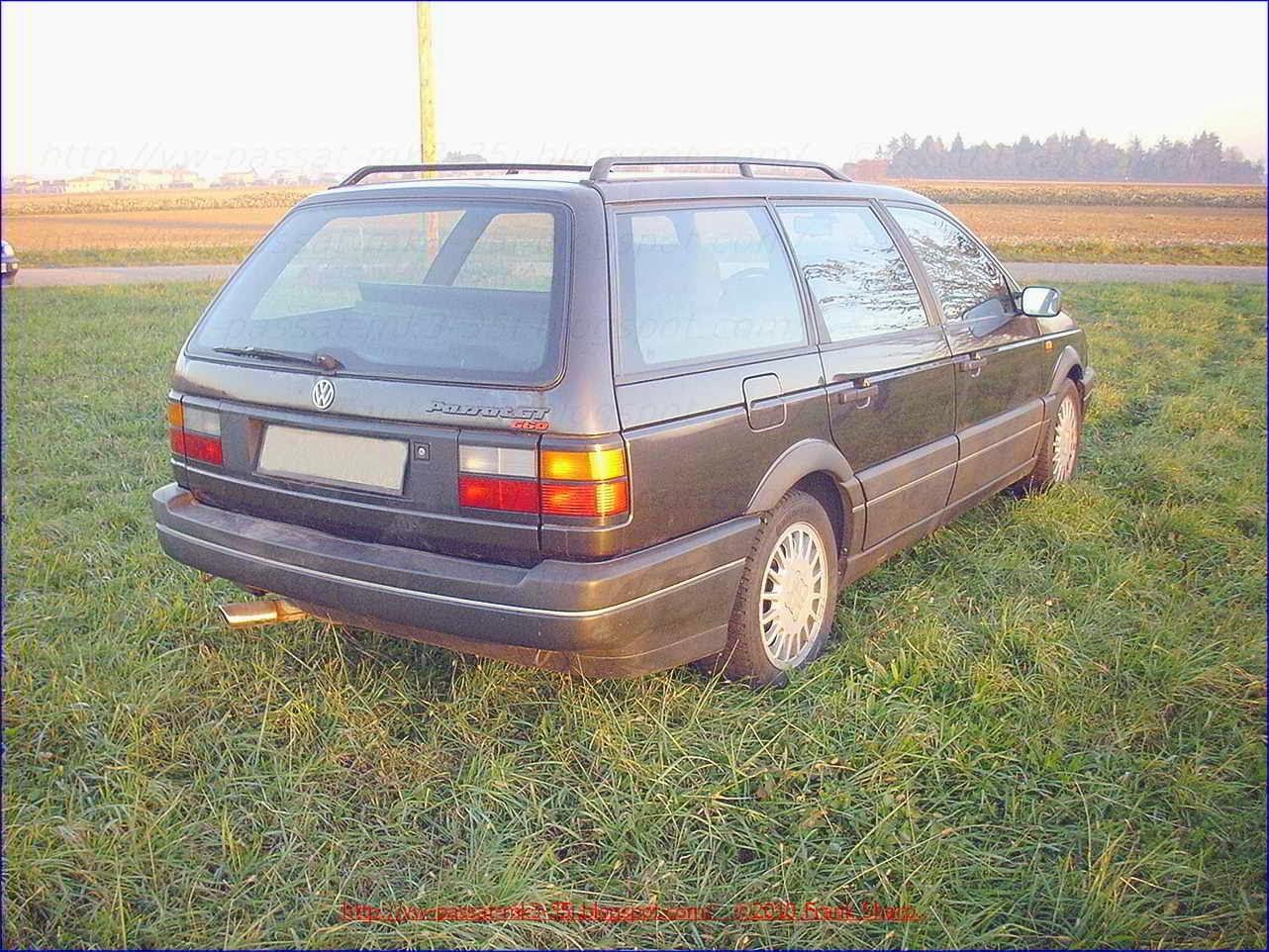 Volkswagen Passat Gt G60 Synchro 35i Mk3 Year 1990 1 8 Fuse Box