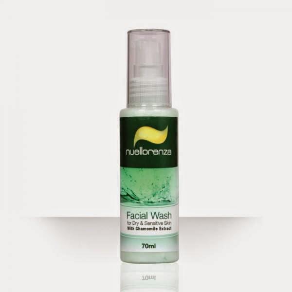 Produk Perawatan Wajah Facial Wash For Dry & Sensitive Skin ( with chamomile extract )