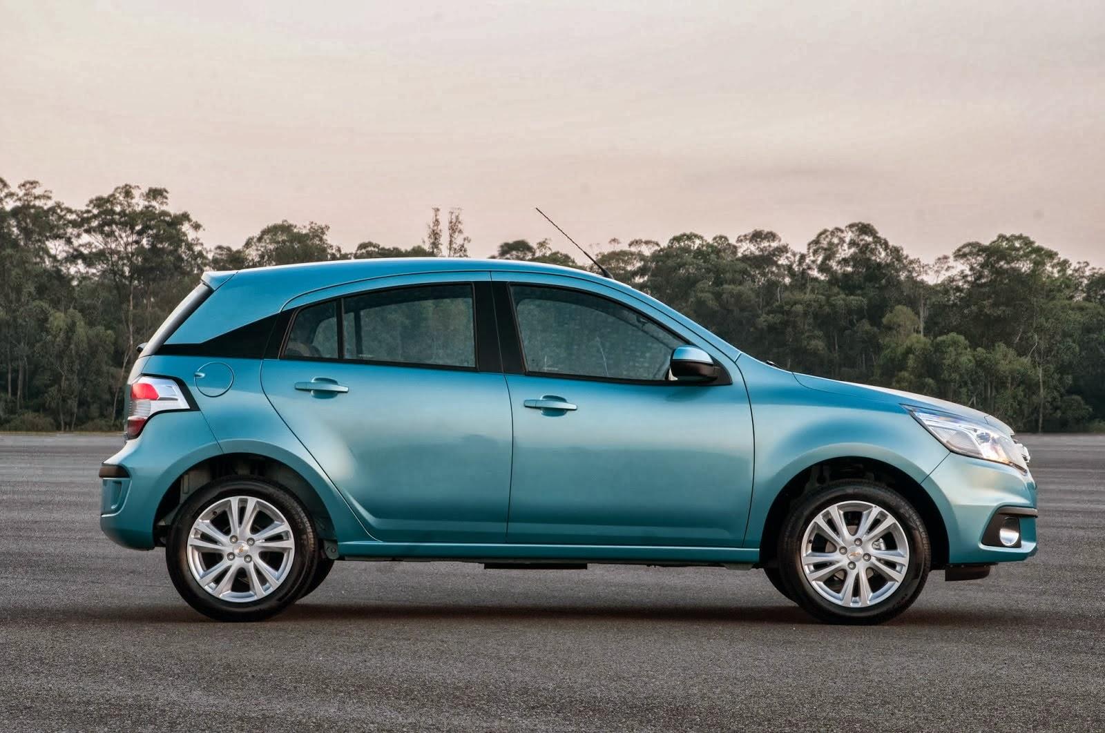 Imágenes Nuevo Chevrolet Agile