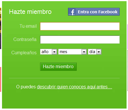 Cómo crear una cuenta en Badoo gratis