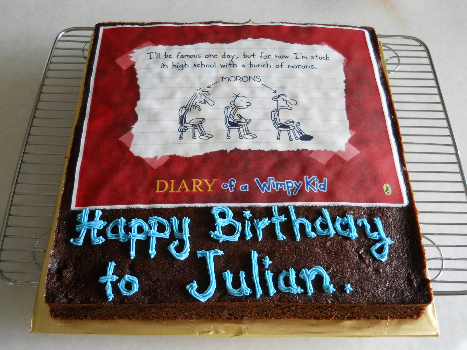 Julians Early Morning Blog A Very Julian Birthday