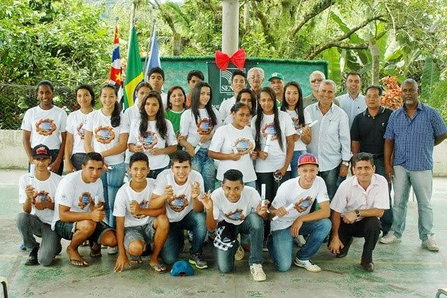 Prefeitura de Juquiá em parceria com Senar e Sindicato Rural formam Jovens Agricultores do Futuro