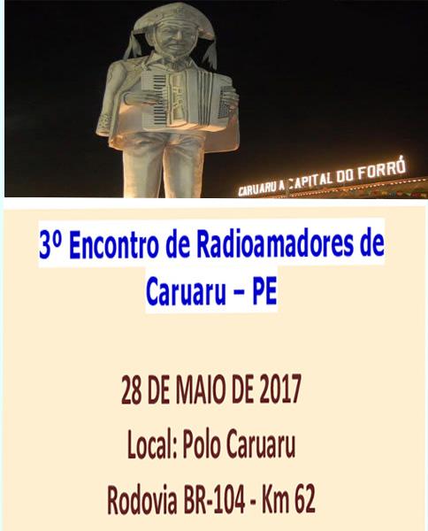 3ª ENCONTRO DE RADIOAMADORES EM CARUARU - PE