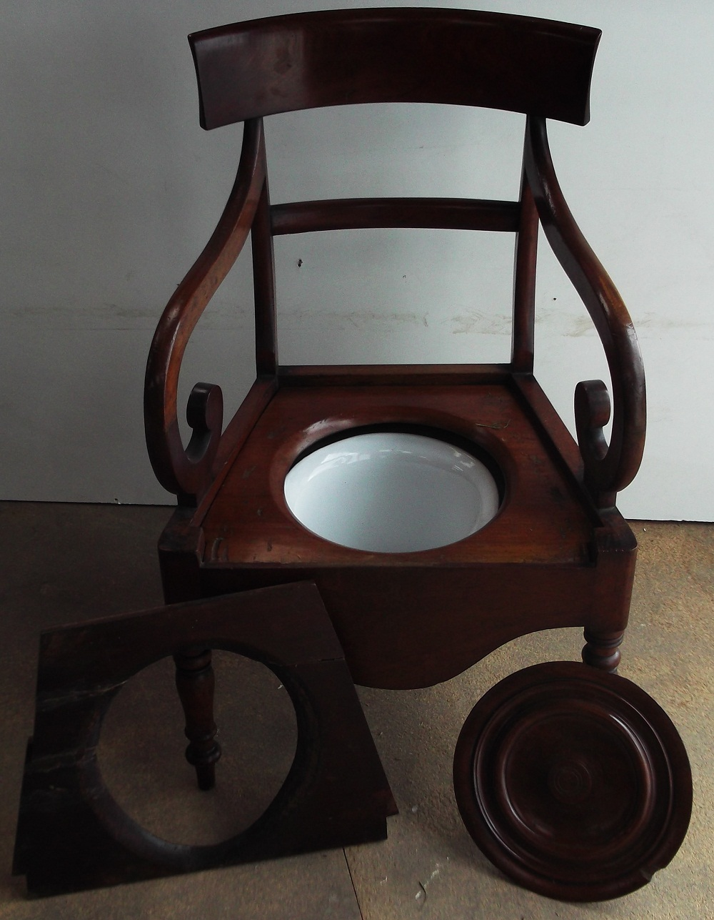 The Antique Commode Chair Is Currently For Sale In Our Ebay Shop, Please  Click Here To Visit.