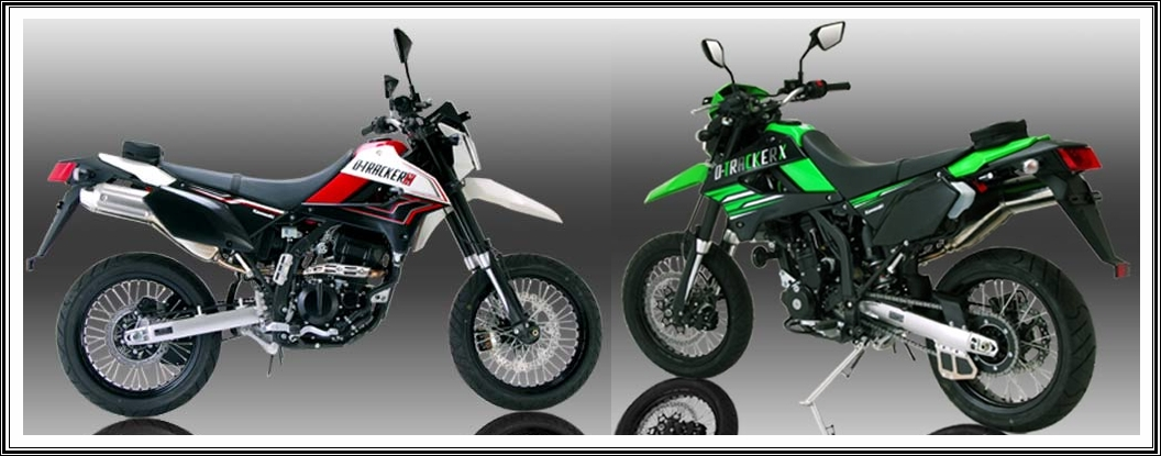 kawasaki d trackerx designed for lovers of adventure with power