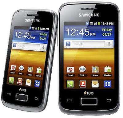 Samsung Galaxy Y Duos GT-S6102, Harga Samsung Galaxy Y Duos GT-S6102, Spesifikasi Samsung Galaxy Y Duos GT-S6102
