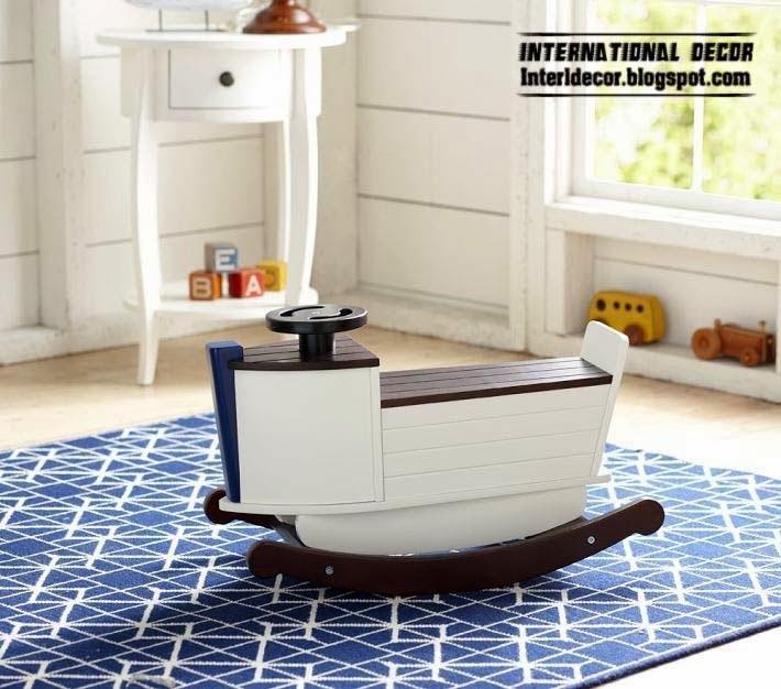 rocking chairs for kids, children rocking chair, blue rug