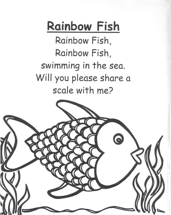 RAINBOW FISH POEM IN ENGLISH