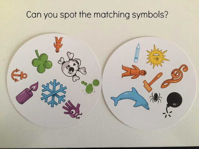 Dobble cards to show the symbols
