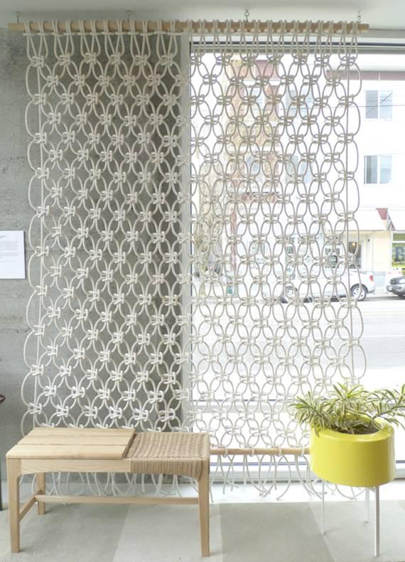Macram moderno blog de decora o e - Biombos para exteriores ...