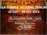 GA SIMPLE ~ PLANNER ISLAM 2015