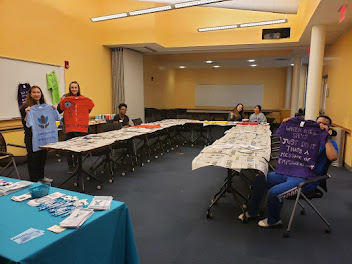 Kean University Week of Action: Clothesline Project Workshop