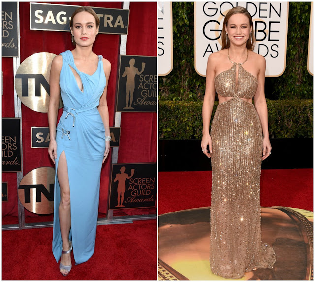 Brie Larson, Red carpet, fashion, golden globes, critics choice awards