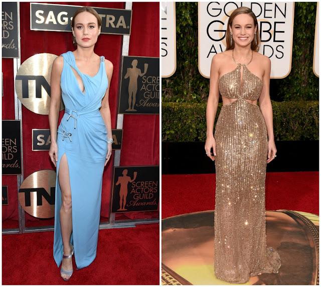 Brie Larson, Red carpet, fashion, golden globes, critics choice awards