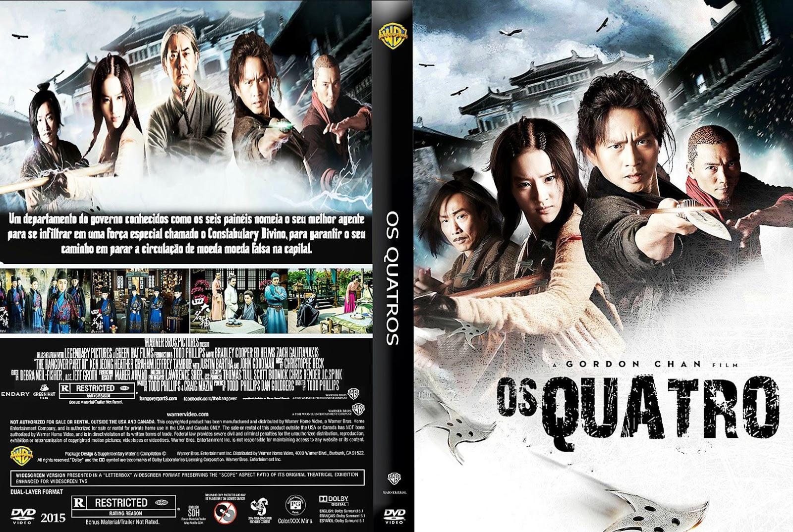 Download Os Quatro BDRip XviD Dual Áudio Os 2BQuatro