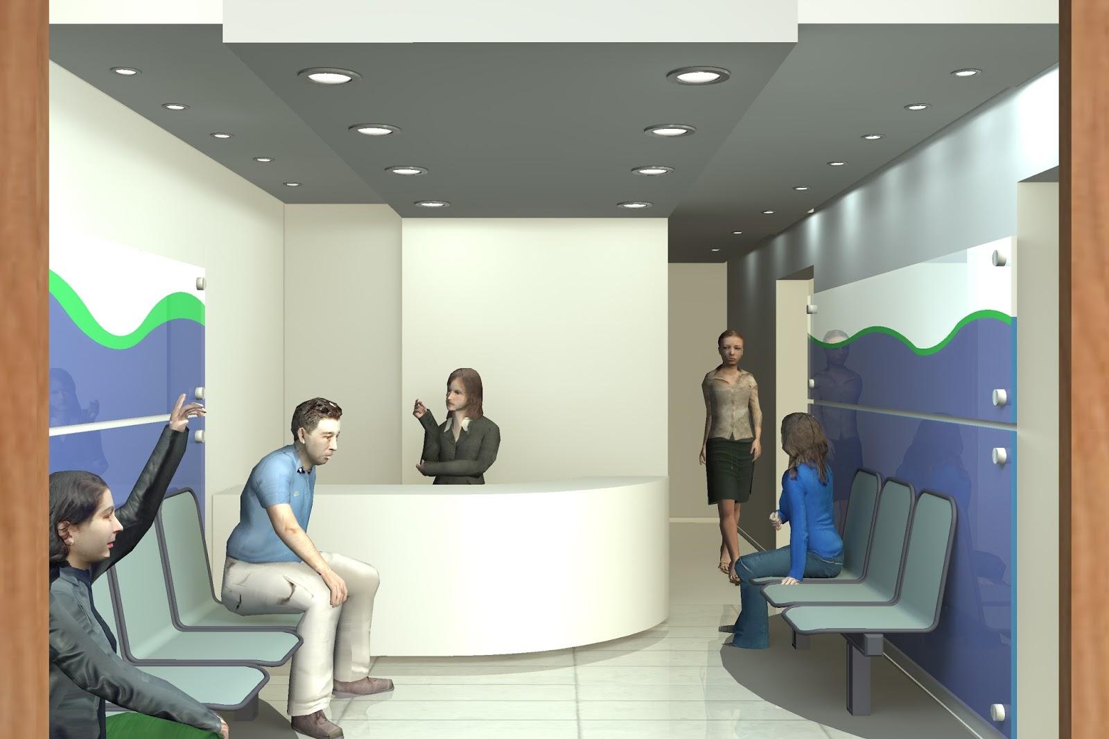 Proyectos mmo arq proyecto dise o cl nica dental interiores - Proyecto clinica dental ...