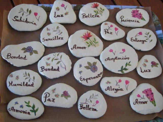 Los ni os y la biblia ceremonia para hablar sobre el perd n - Piedras de rio pintadas ...
