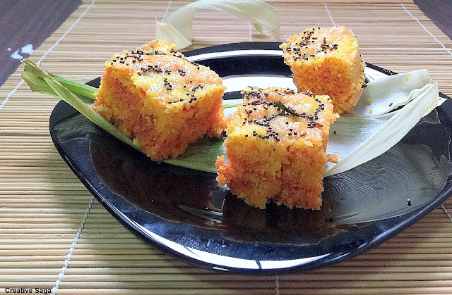 corn dhokla recipe
