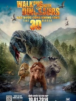 Walking With Dinosaurs 2014 poster