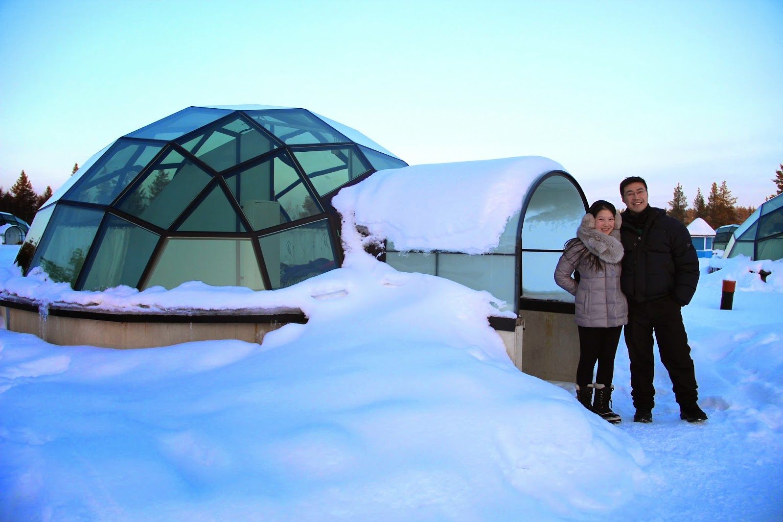 finland hotel igloo the kakslauttanen igloo hotel in finland holidayguru ie jamie amazing. Black Bedroom Furniture Sets. Home Design Ideas