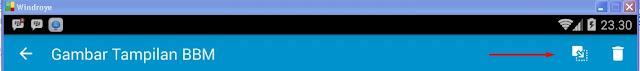 Cara Mengganti DP BBM di Windroye atau BlueStacks
