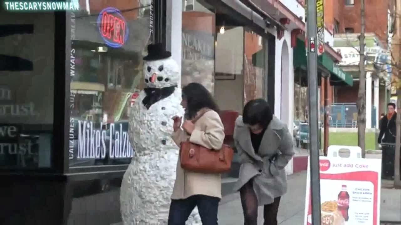 Broma,hombre de nieve,terrorífica