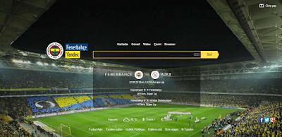 Fenerbahçe Yandex Browser